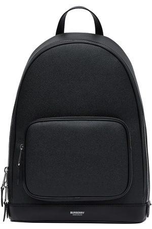 Burberry Herre Ryggsekker - Grainy logo backpack