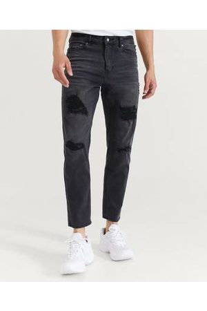 William Baxter Jeans Tapered Cropped Jeans