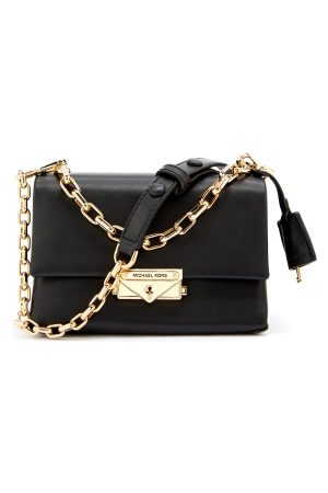 Michael Kors Dame Skuldervesker - Cece Chain Crossbody Bag Black One size