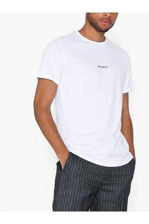 Les Deux Lens T-Shirt T-skjorter og singleter White