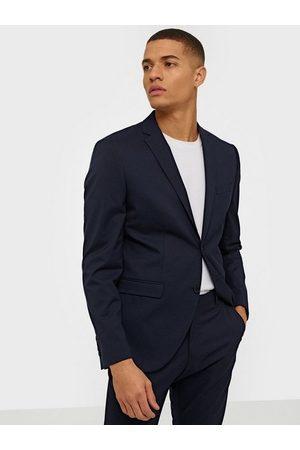 Selected Slhslim-Mylologan Navy Blazer B Noo Blazere & dresser Mørk blå
