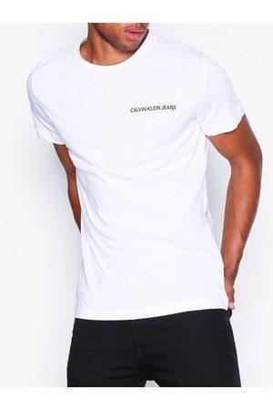 Calvin Klein Chest Institutional Slim Tee T-skjorter og singleter Bright White