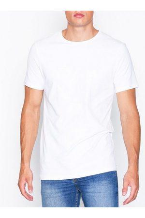 Bread & Boxers Crew Neck T-shirt T-skjorter og singleter Hvit