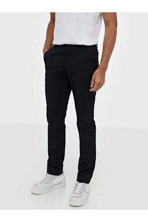 Selected Slhslim-Mylologan Black Trouser B N Bukser Svart