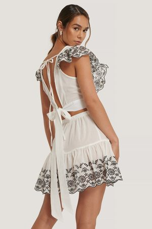 Trendyol Dame Sett - Embroidered Summer Set