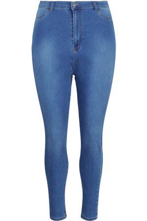 Boohoo Plus Butt Shaper High Rise Stretch Skinny Jean