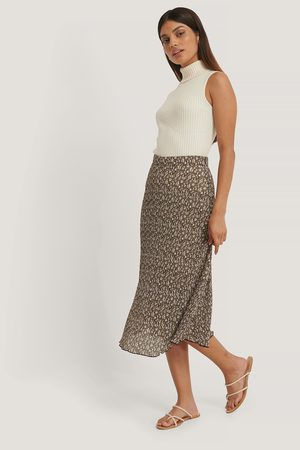 NA-KD Flower Printed Skirt