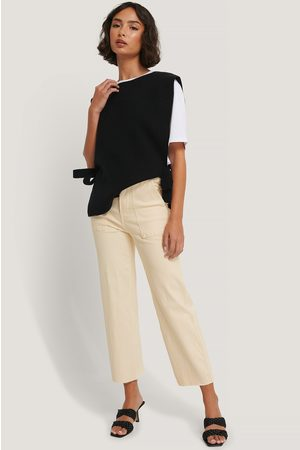 Glamorous Cropped High Waist Jeans