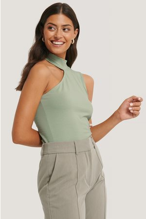 NA-KD High Neck Cut Out Top