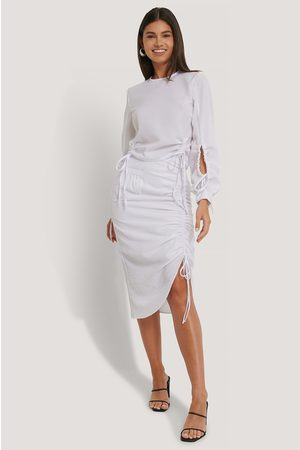 NA-KD Drawstring Detailed Skirt