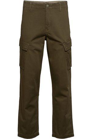 Levi's Herre Cargobukser - Xx Taper Cargo Ii Bunker Olive Trousers Cargo Pants Grønn