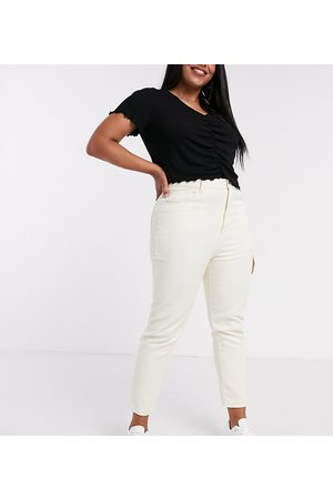 Daisy Street High waist mom jeans in stone
