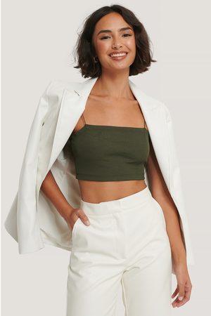 Trendyol Dame Crop - Thin Stripe Top