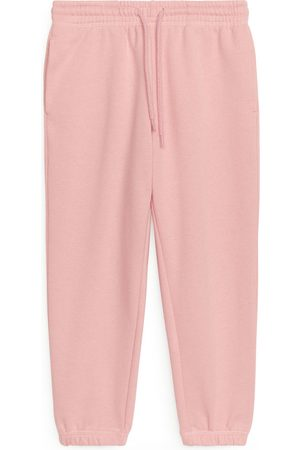 ARKET French Terry Sweatpants - Pink