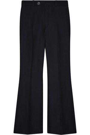 Gucci Cropped flared trousers