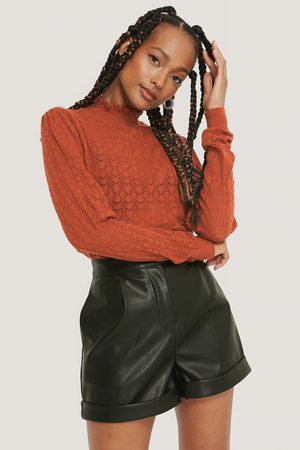 NA-KD Trend Dame Pologensere - Puff Sleeve Top