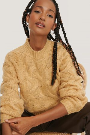 NA-KD Big Cable Knitted Sweater