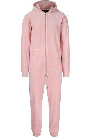Onepiece Onesies - Original Velvet Jumpsuit Soft Pink