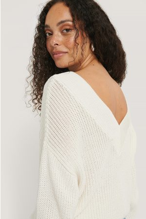 NA-KD V-neck Rib Knitted Sweater