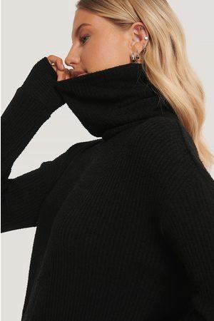 NA-KD High Neck Oversized Sweater