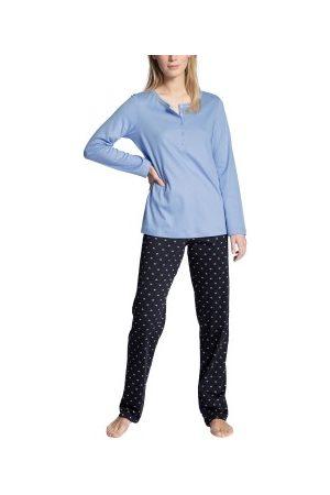 Calida Dame Pyjamaser - Night Lovers Buttoned Pyjama * Fri Frakt