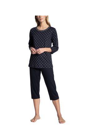 Calida Dame Pyjamaser - Night Lovers Threequarter Pyjama * Fri Frakt