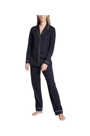 Calida Dame Pyjamaser - Night Lovers Pyjama With Collar * Fri Frakt