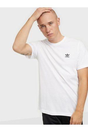 adidas Herre Singleter - Essential Tee T-skjorter og singleter Hvit