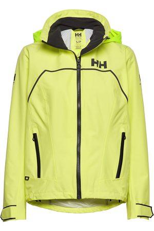 Helly Hansen W Hp Foil Light Jacket Outerwear Sport Jackets Gul
