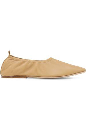 REJINA PYO Dame Ballerinasko - 7mm Leather Ballerinas