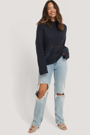 NA-KD Hole Detail Knitted Sweater