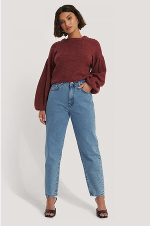NA-KD Dame Mom - Loose Fit Mom Jeans