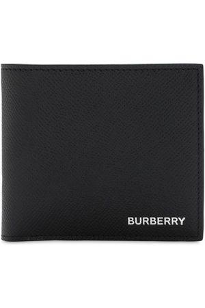 Burberry Herre Lommebøker - Grain Leather Billfold Coin Wallet