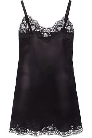 Dolce & Gabbana Lace-trimmed top