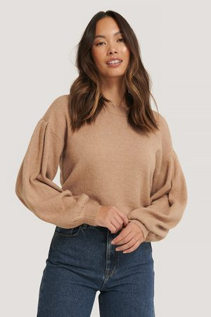 NA-KD Dame Strikkegensere - Drop Shoulder Knit