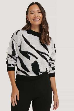 NA-KD Animal Knitted Sweater