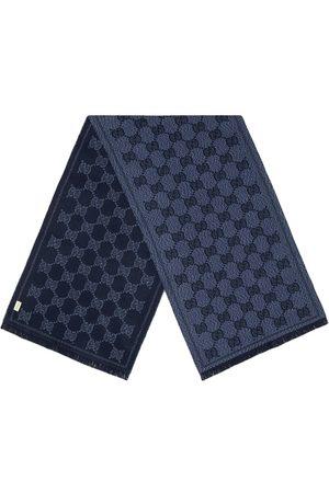 Gucci Herre Skjerf - GG pattern jacquard scarf