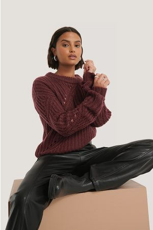 NA-KD Diagonal Knitted Sweater