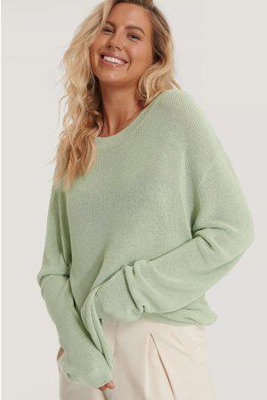 NA-KD Light Knit Round Neck Sweater