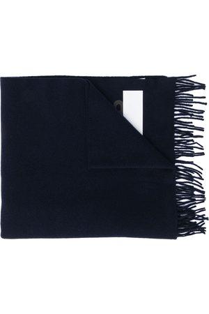 Moncler Herre Skjerf - Graphic logo print scarf