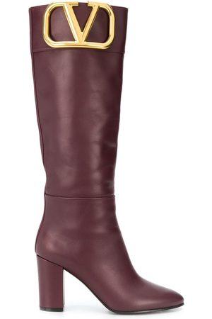 VALENTINO GARAVANI Dame Høye støvletter - VLOGO knee-high boots