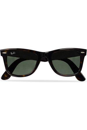 Ray-Ban Herre Solbriller - Original Wayfarer Sunglasses Tortoise/Crystal Green