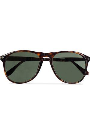 Persol PO9649S Sunglasses Havana/Crystal Green