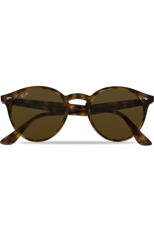 Ray-Ban RB2180 Acetat Sunglasses Dark Havana/Dark Brown