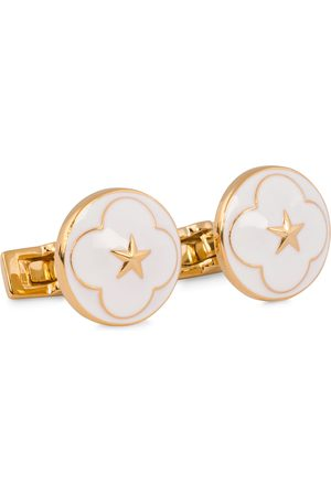 Skultuna Cuff Links Polar Star White