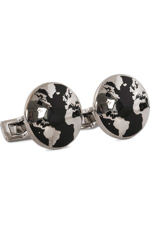 Skultuna Herre Mansjettknapper - Cuff Links World Traveler Black