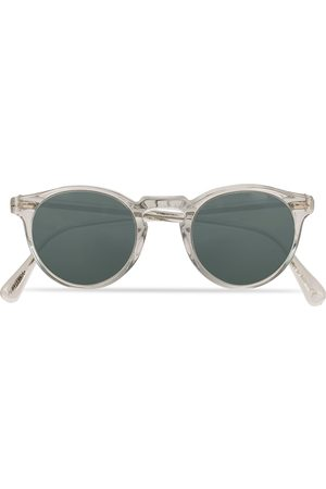 Oliver Peoples Gregory Peck Sunglasses Crystal/Indigo Photochromic
