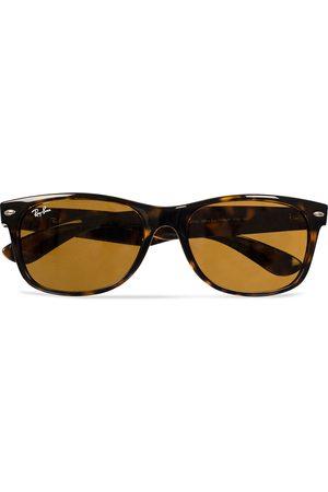 Ray-Ban New Wayfarer Sunglasses Light Havana/Crystal Brown