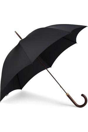 Fox Umbrellas Polished Hardwood Umbrella Black