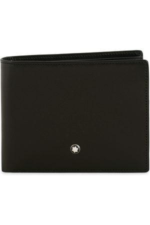 Mont Blanc Meisterstück Leather Wallet 6cc Black